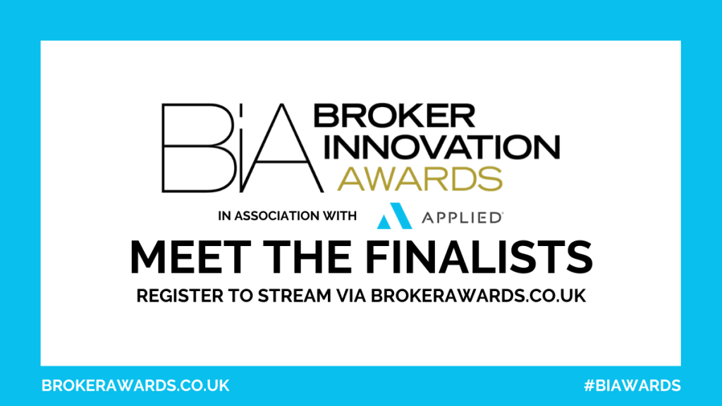 Broker Innovation Awards 2020 - Shortlist - Meet the finalists + date confirmed
